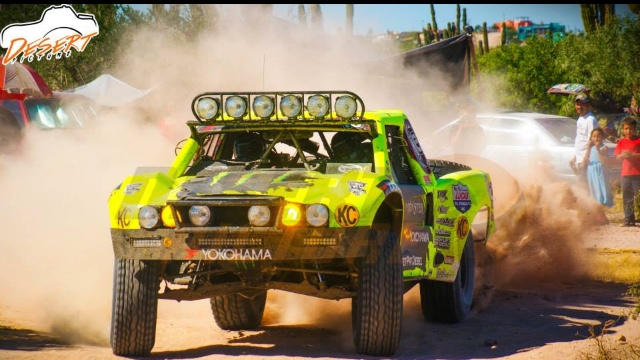 Cameron Steele and The Desert Assassins score a 3rd place at this years Baja 1000.